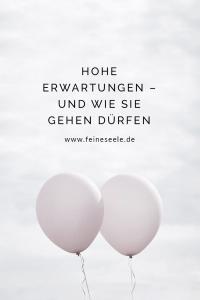 Hohe Erwartungen, Stefanie Adam, www.feineseele.de