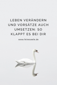 Leben verändern, Stefanie Adam, www.feineseele.de