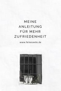 Zufriedenheit, Stefanie Adam, www.feineseele.de