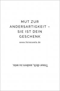 Andersartigkeit // Stefanie Adam, www.feineseele.de