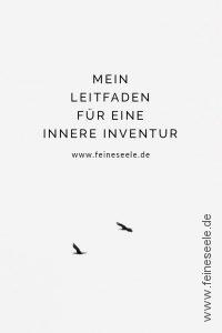 Leitfaden innere Inventur: Vögel am Himmel