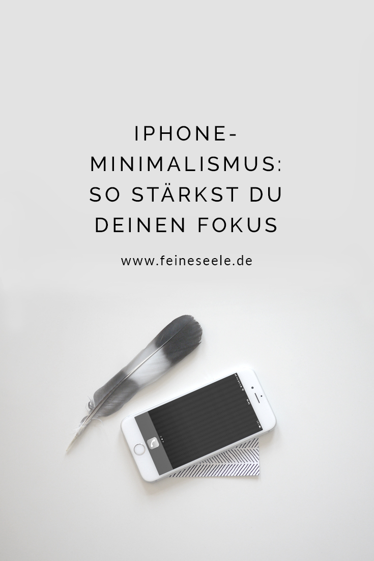 Minimalistisches Handy