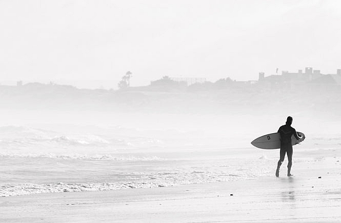 Angst vor der Angst: Surfer