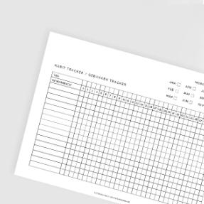 Habit-Tracker-Vorlage kostenlos