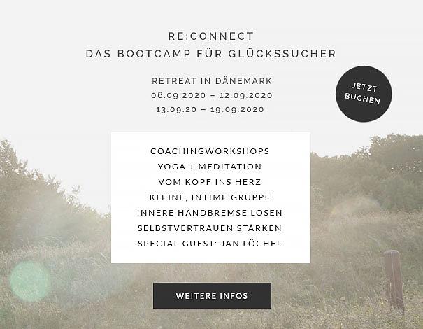 Re:Connect – Das Bootcamp für Glückssucher