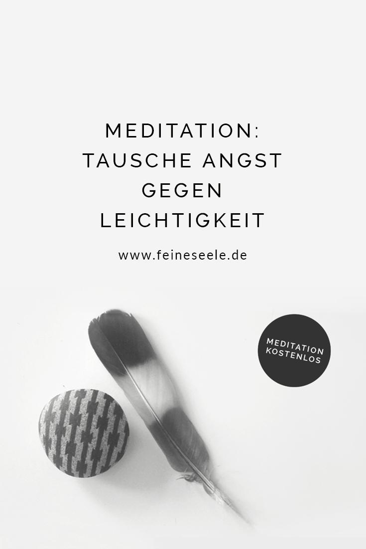 Angst loswerden, geführte Meditation von Stefanie Adam